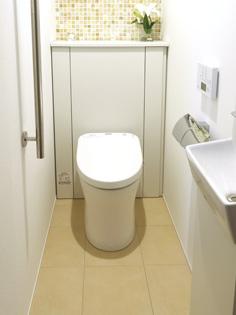 親世帯のトイレ