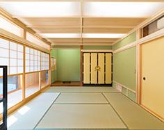 現代風和室写真