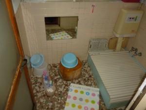 浴室改装工事(寒いタイルのお風呂からユニットバスへ)