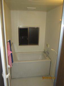 浴室改装工事 ユニットバス→ユニットバス